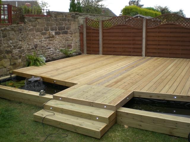 Cbs decking for Garden decking materials